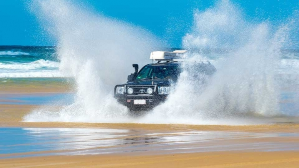 4WD Hire Package ex-Sunshine Coast