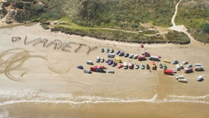 Beach bashing... we welcome all the amazing teams from Variety - the children's charity to our island